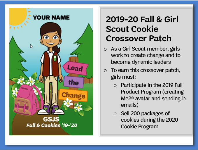 Girl Scout QSP Nuts and Magazines Award Booth Sales