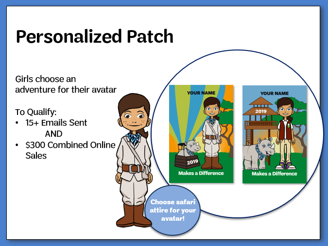 Personalized Patch_Online Sales